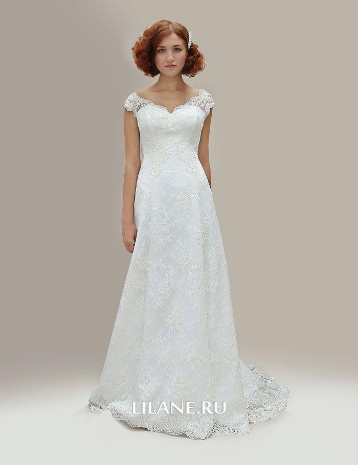 Свадебное платье А-силуэт Karla из кружева