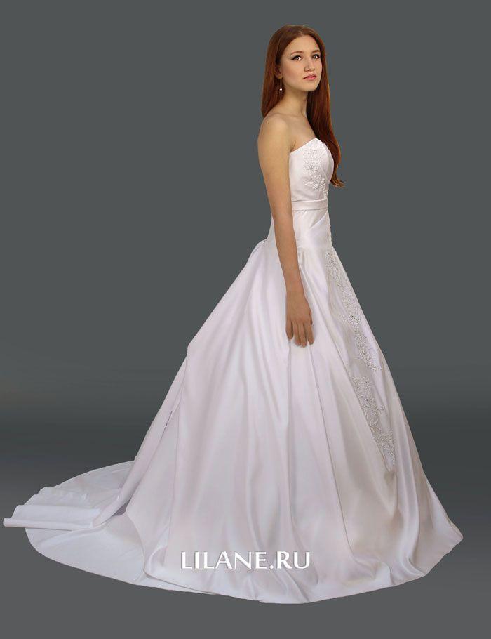 Шлейф свадебного платья А-силуэт Penelopa