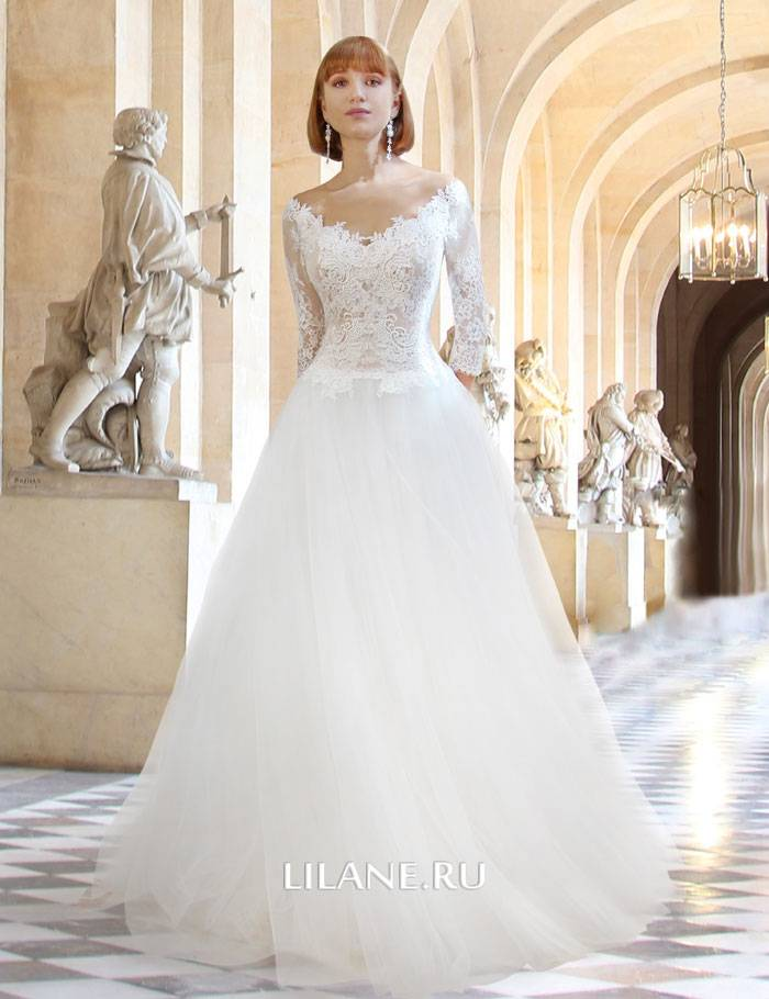 Свадебное платье А-силуэт Rachel