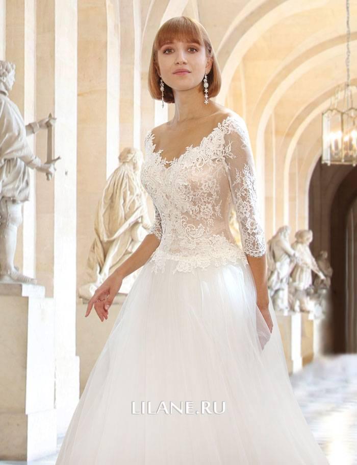 Кружевной верх свадебного платья А-силуэт Rachel