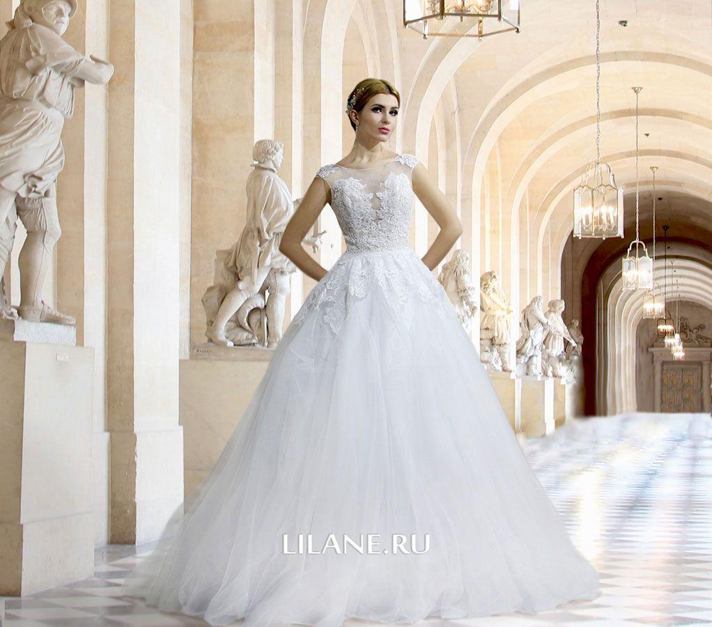 Обложка страницы пошив свадебных платьев А-силуэт салона-ателье Лилейн