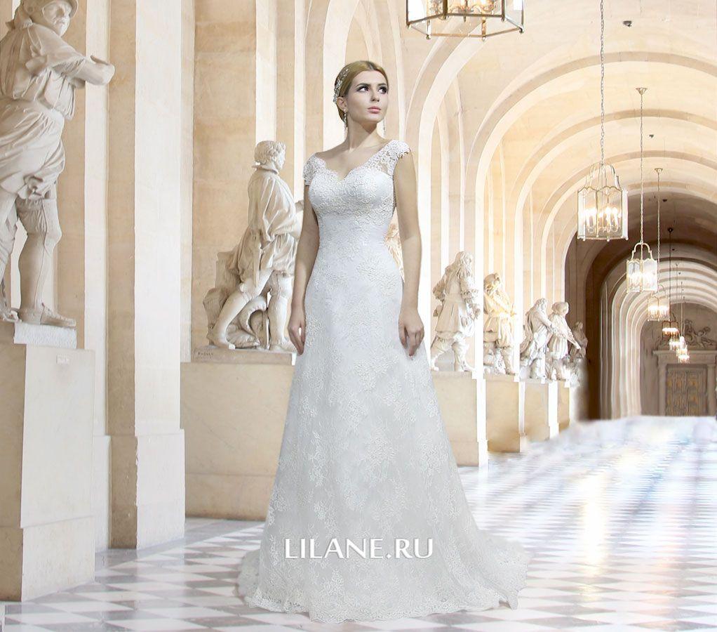 Обложка страницы пошив свадебных платьев для полных салона-ателье Лилейн