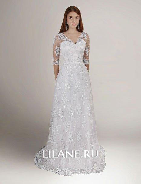 Свадебные платья для полных свадебного салона Лилейн