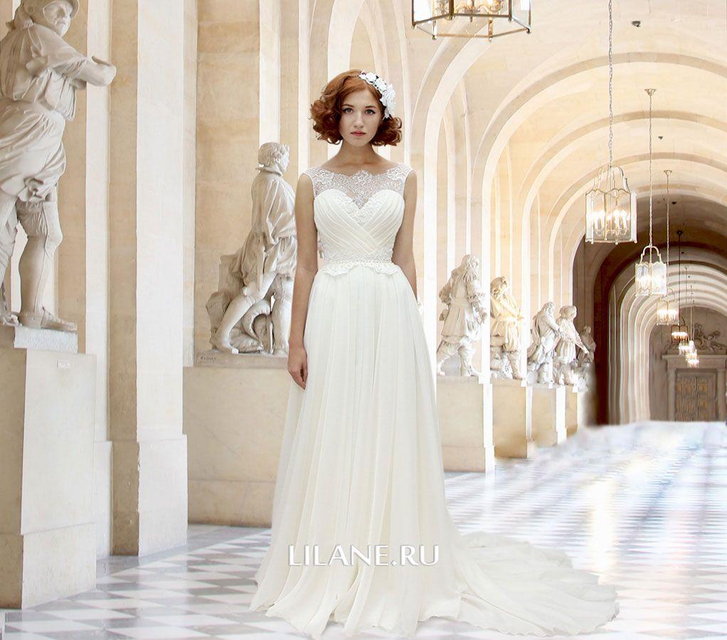 Обложка страницы пошив греческих свадебных платьев салона-ателье Лилейн
