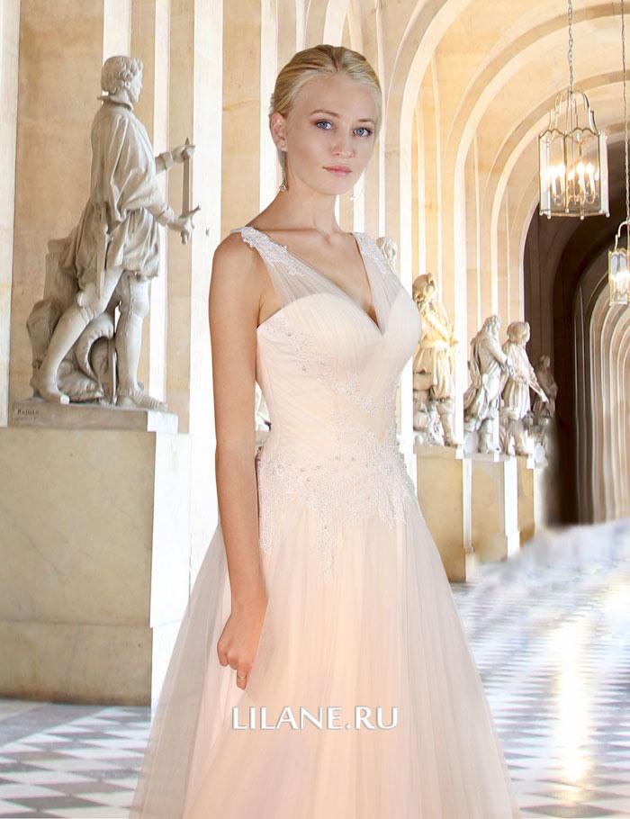 Греческое свадебное платье Gali цвета айвори