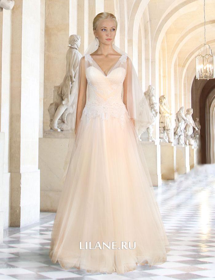 Шлейф греческого свадебного платья Gali