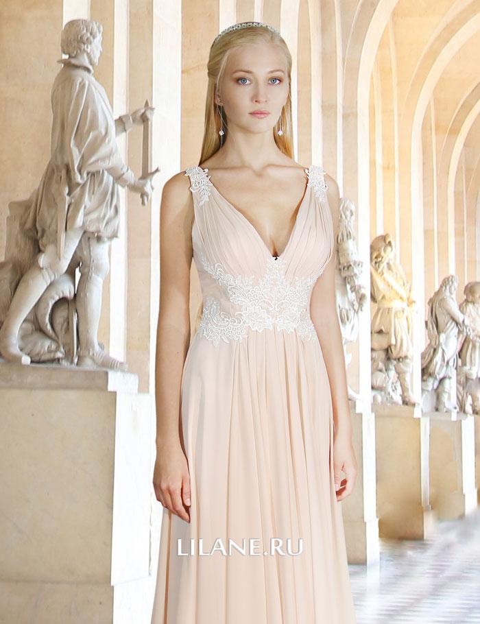 Шлейф греческого свадебного платья Jennifer