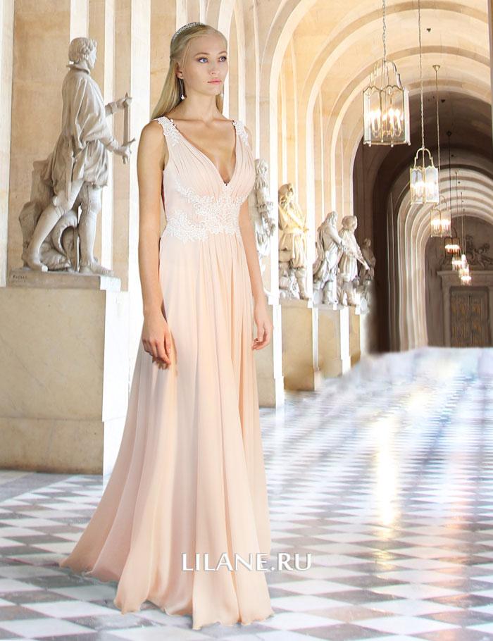 Спинка греческого свадебного платья Jennifer