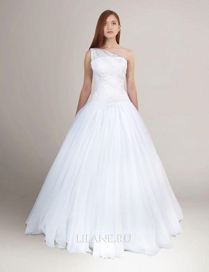 Пышная юбка греческого свадебного платья Karin