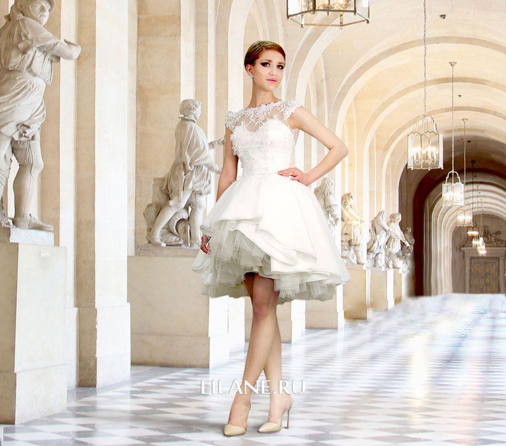 Обложка страницы коротких свадебных платьев салона-ателье Лилейн