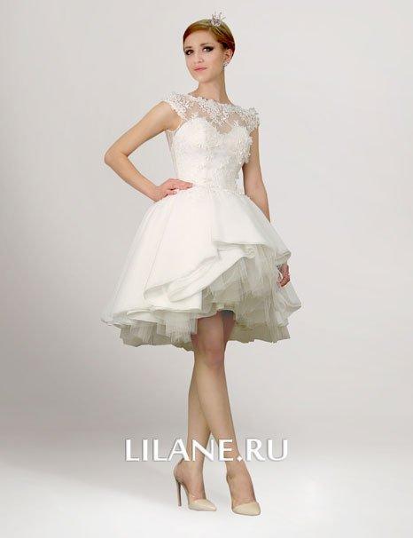 Короткие свадебные платья свадебного салона Лилейн