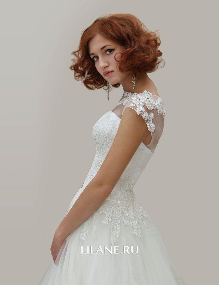 Кружево свадебного платья Amalia