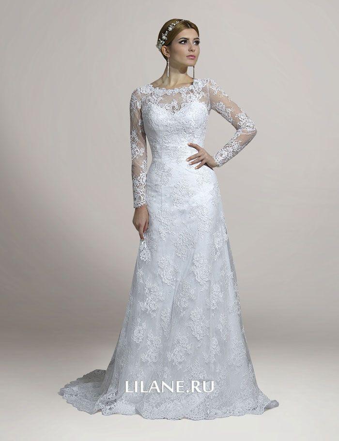Корсет кружевного свадебного платья Chloya