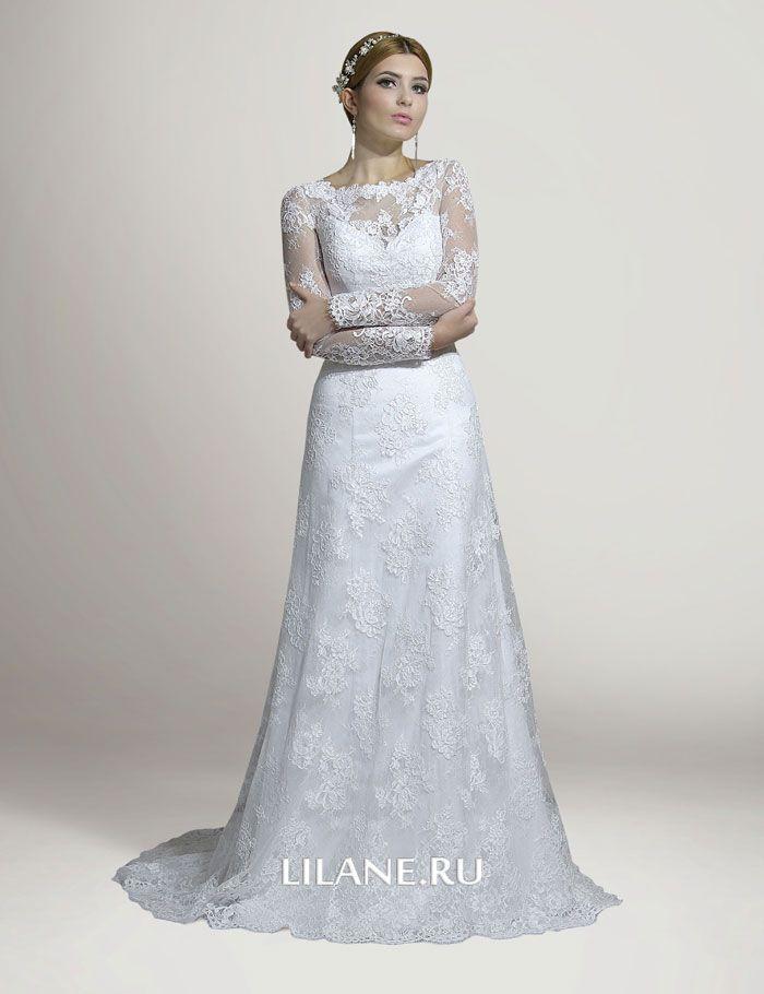 Кружево свадебного платья Chloya
