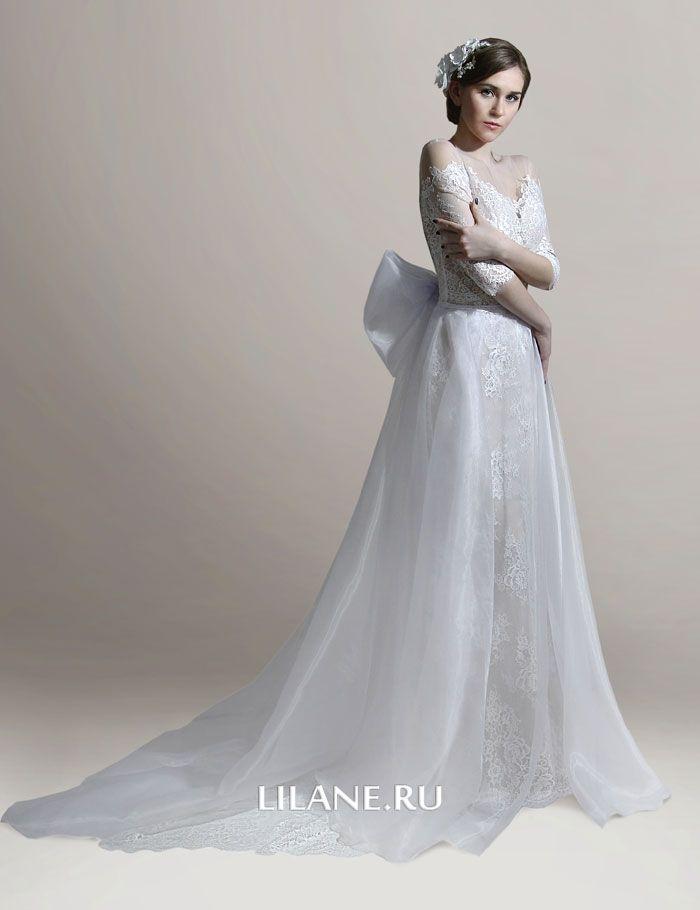 Кружево свадебного платья Elina
