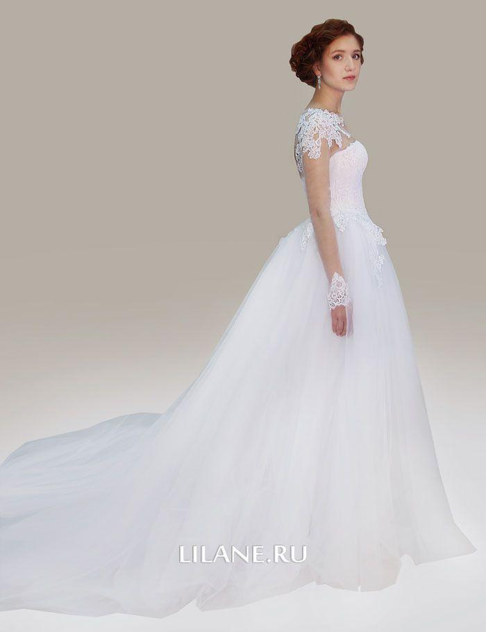 Шлейф свадебного платья Gloria