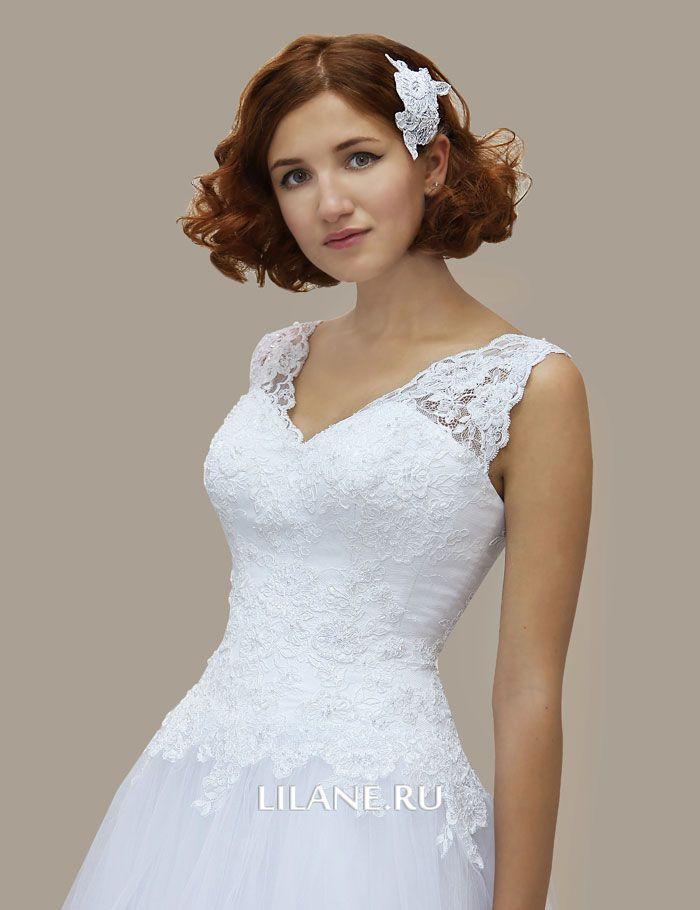 Кружево свадебного платья Lina