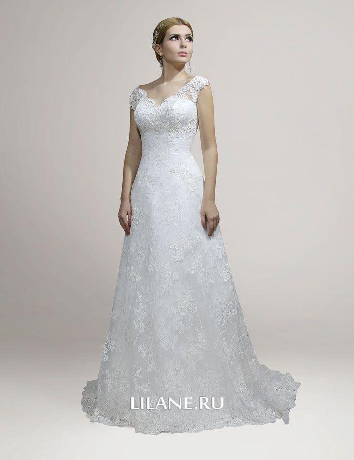 Кружево свадебного платья Loren