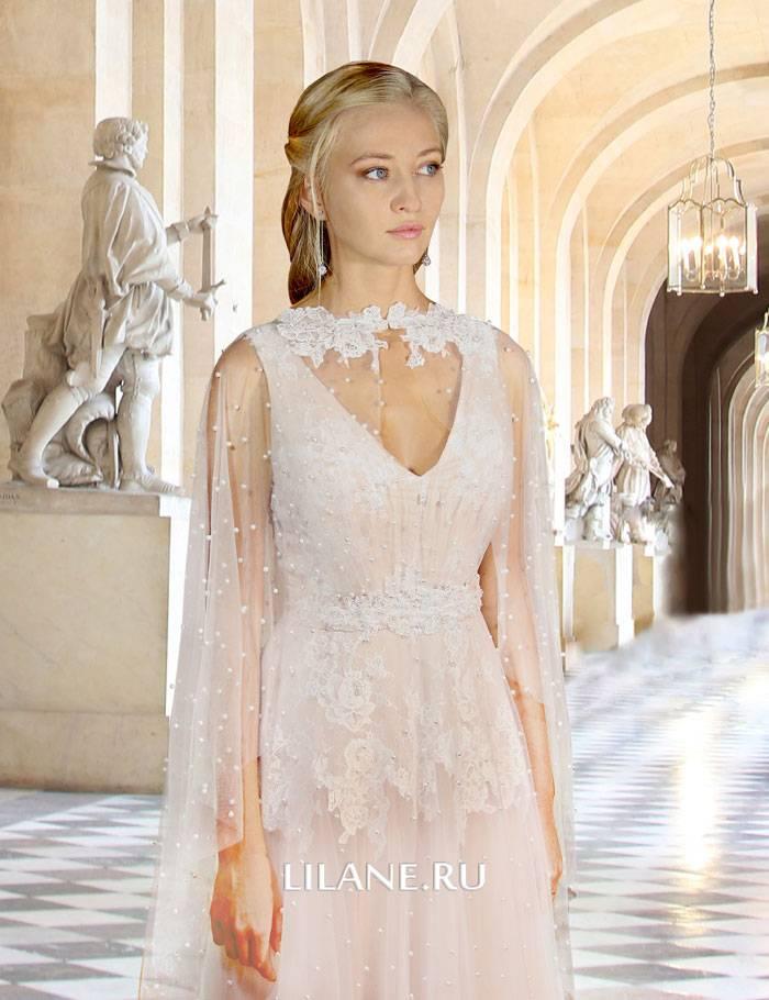 Кружево свадебного платья Monique