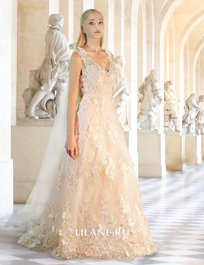 Прямое свадебное платье Serena