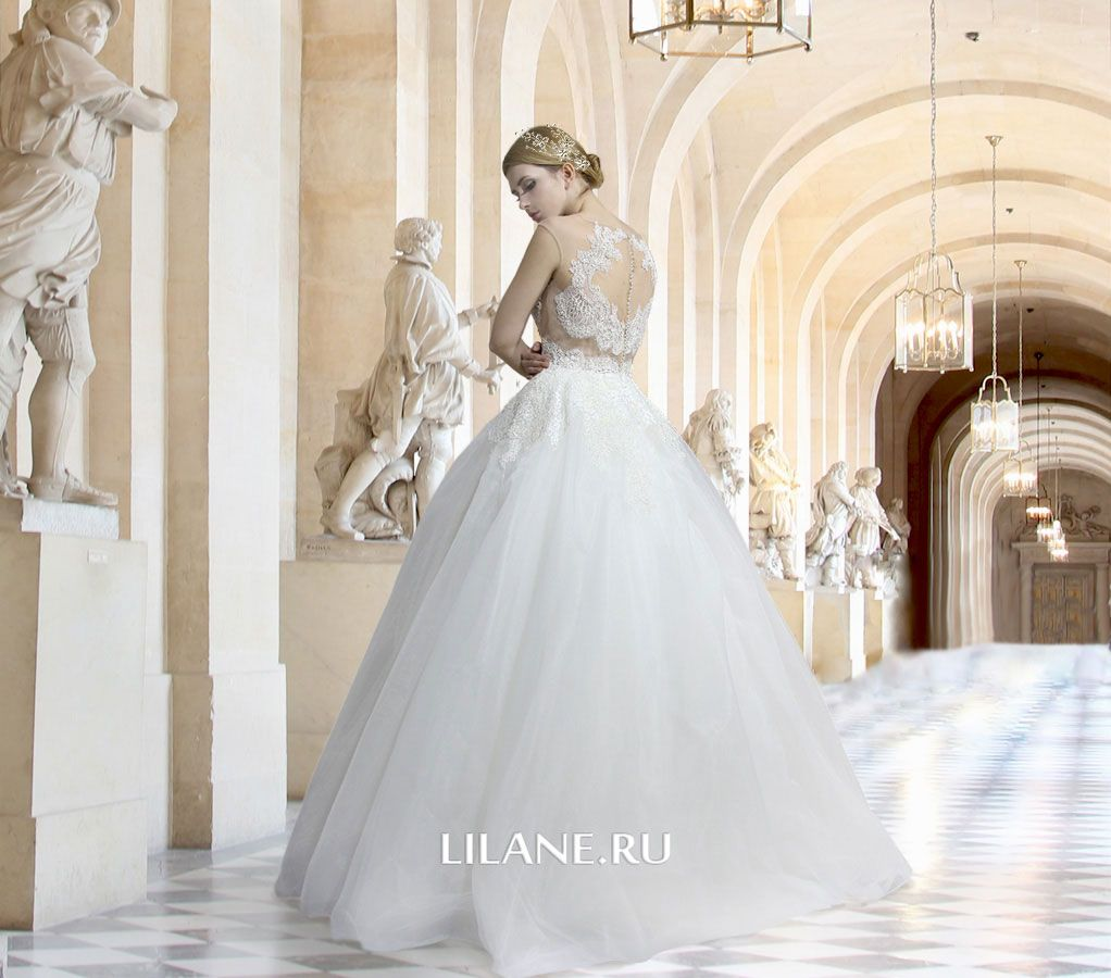 Обложка страницы пошив свадебных платьев салона-ателье Лилейн