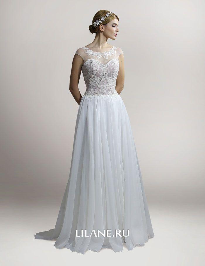 цвет айвори свадебного платья Glory