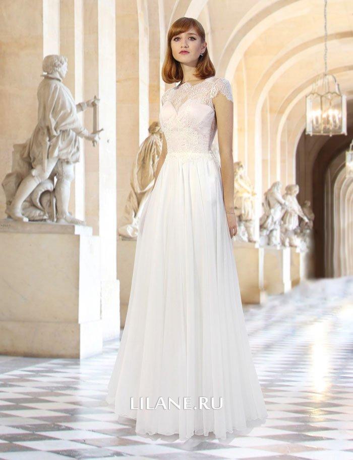 Прямое свадебное платье Idilia