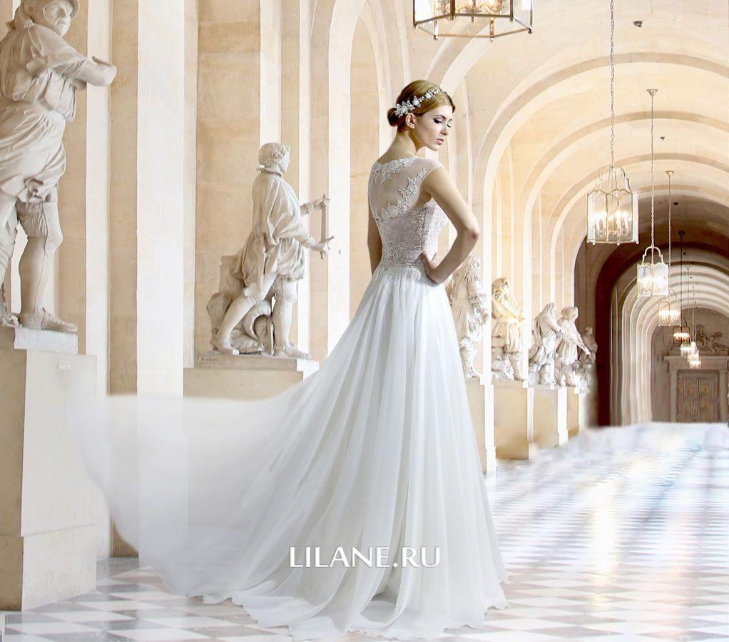 Обложка страницы прямых свадебных платьев салона-ателье Лилейн