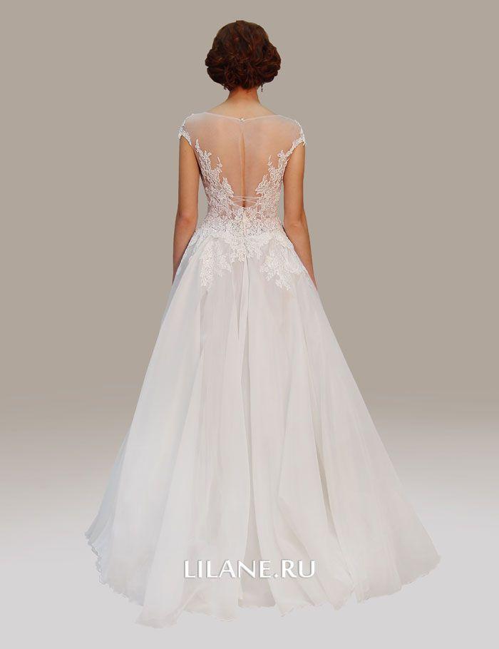 Спинка свадебного платья Elvira