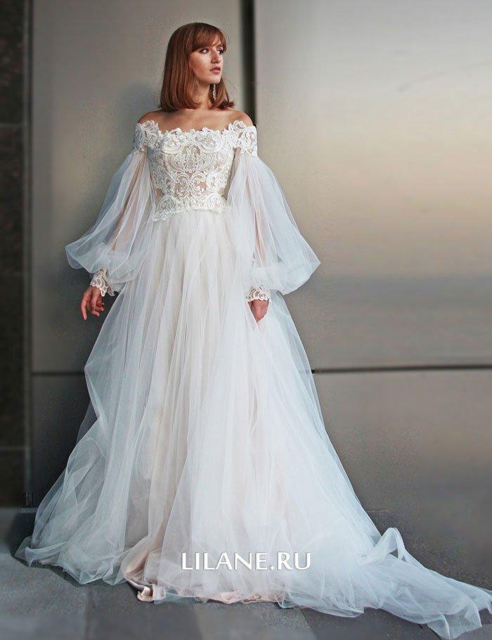 Свадебное платье Rozaliya спереди