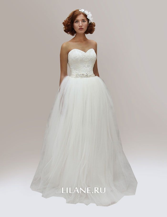Юбка-пачка пышного свадебного платья Sofina