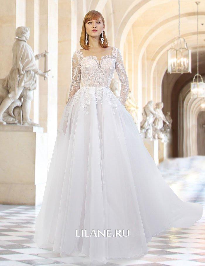 Роскошное пышное свадебное платье Valensiya