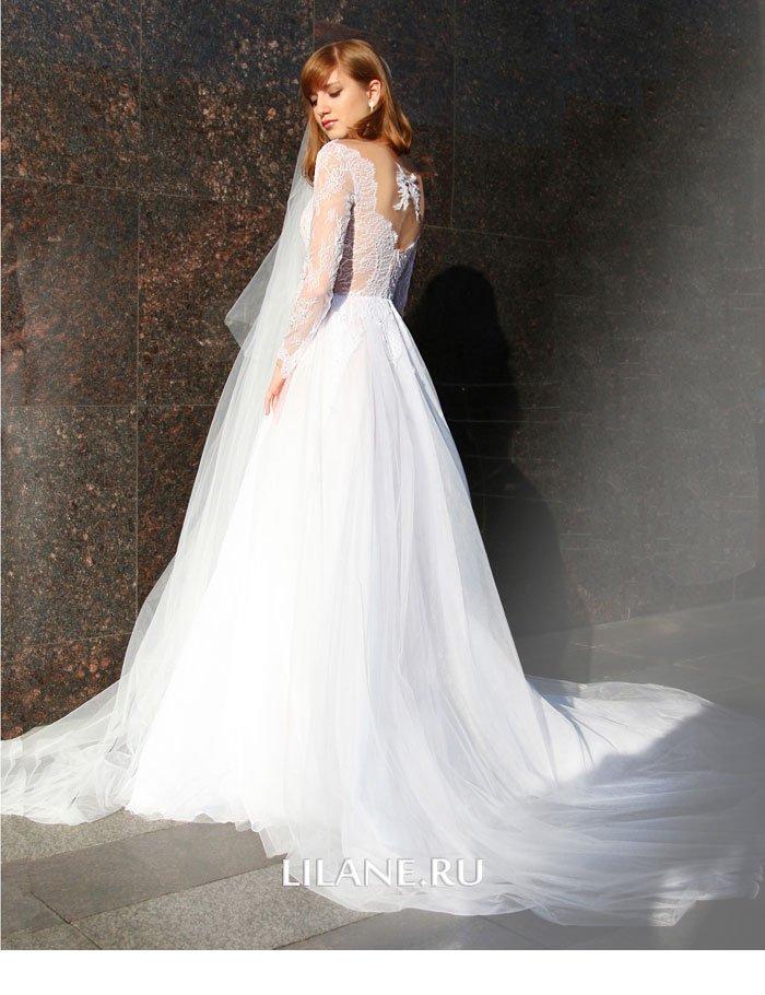 Шлейф свадебного платья Valensiya