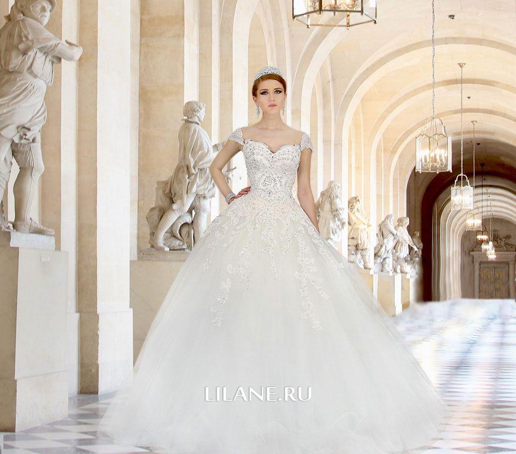Обложка страницы пошив прямых свадебных платьев салона-ателье Лилейн