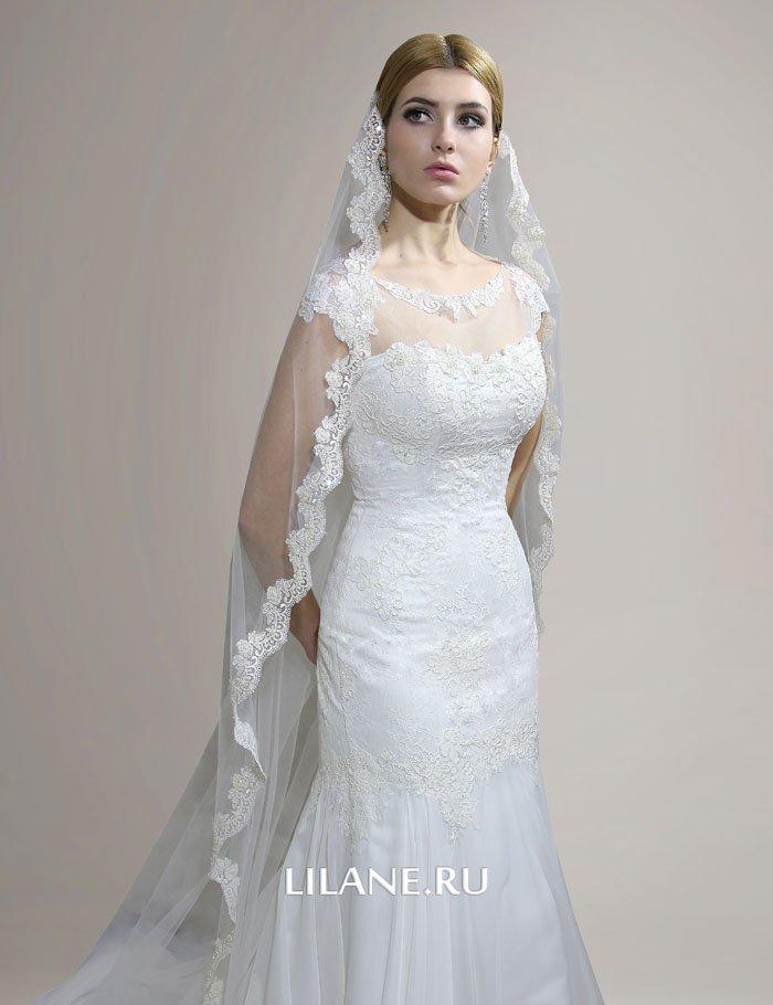 Свадебное платье рыбка Lana в пол оборота