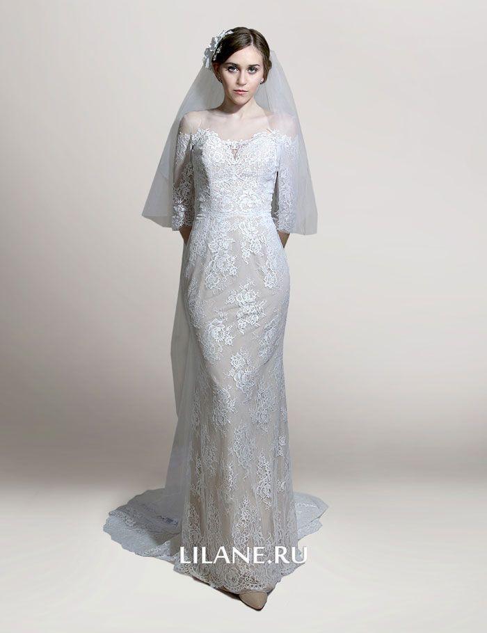 Торжественное и нарядное свадебное платье трансформер Manon