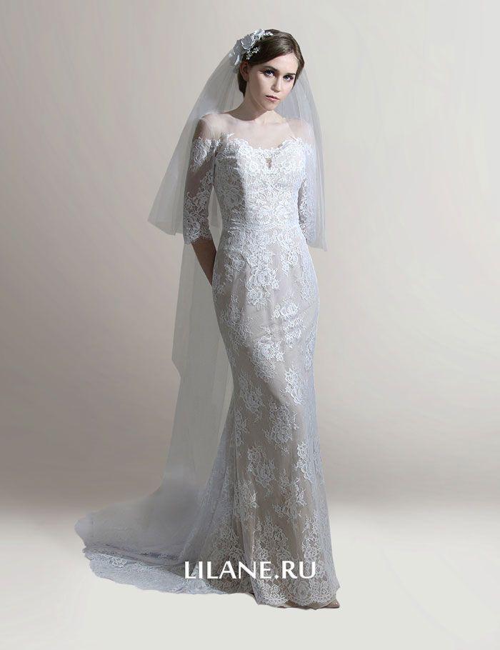 Телесная подкладка вадебноого платья трансформер Manon